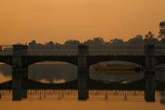 Abaissez Pierce Reservoir 3 Images libres de droits