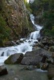Abaissez Reid Falls, Skagway, AK Photo stock