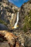 Abaissez Yosemite Falls Image libre de droits