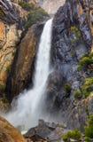 Abaissez Yosemite Falls Image stock