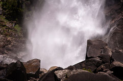 Abaissez Yosemite Falls Images libres de droits
