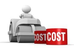 Abaixando custos Imagem de Stock Royalty Free