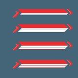 Abaixe a bandeira dos terços Foto de Stock Royalty Free