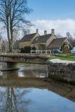 ABAIXE A CHACINA, GLOUCESTERSHIRE/UK - 24 DE MARÇO: Vista cênico de Imagem de Stock Royalty Free