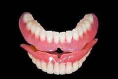 Abaixe a dentadura Imagens de Stock