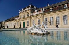 Abaixe o Belvedere Foto de Stock Royalty Free