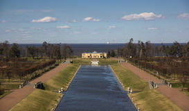 Abaixe o parque e o pavilhão no palácio do congresso nacional Fotografia de Stock