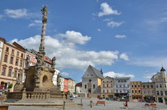 Abaixe o quadrado em Olomouc imagem de stock