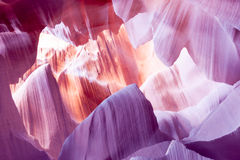 Abaixe a página o Arizona EUA da garganta do antílope Fotografia de Stock