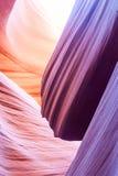 Abaixe a página o Arizona EUA da garganta do antílope Foto de Stock Royalty Free
