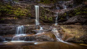 Abaixe Wentworth Falls Fotografia de Stock Royalty Free
