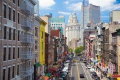 Abaixe a zona leste NYC Imagens de Stock