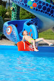 Abajo al agua Imagen de archivo