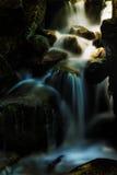 Abajo al agua azul Imagen de archivo libre de regalías