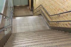 Abajo al metro Imagen de archivo libre de regalías