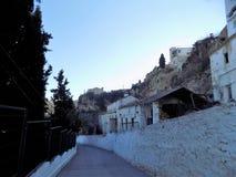 Abajo al Tajos de Alhama de Granada Fotos de archivo