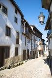 Abajo calle en Candelario Imagenes de archivo