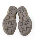Abajo cara de los zapatos Fotos de archivo