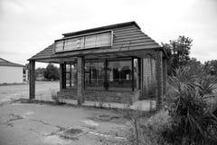 Abajo cerrado restaurante Imagenes de archivo