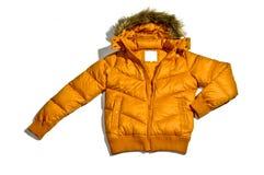 Abajo chaqueta Fotografía de archivo libre de regalías
