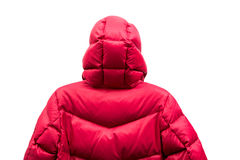 Abajo chaqueta Imágenes de archivo libres de regalías