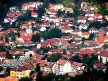 Abajo ciudad Brasov (Kronstadt), Transilvania, Rumania Foto de archivo