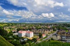 Abajo ciudad de Tobolsk, Rusia Fotos de archivo