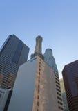 Abajo ciudad Los Ángeles, California, los E.E.U.U. Foto de archivo