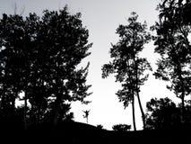 Abajo de la colina Imagenes de archivo