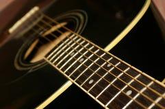 Abajo de la guitarra Fotos de archivo