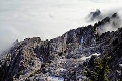 Abajo de la montaña Fotografía de archivo libre de regalías