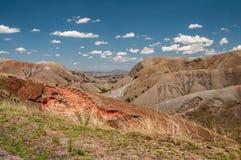 Abajo de la montaña central malgache Foto de archivo libre de regalías
