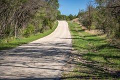 Abajo de una carretera nacional Imagen de archivo
