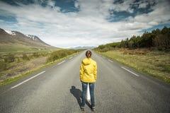 Abajo del camino es la manera Foto de archivo