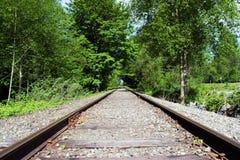 Abajo del ferrocarril Imagen de archivo