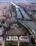 Abajo del Seine Fotos de archivo