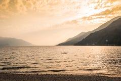 Abajo en Cannero riviera Fotografía de archivo libre de regalías