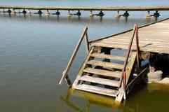 Abajo en el agua Fotos de archivo libres de regalías