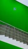 Abajo escalera Fotografía de archivo libre de regalías