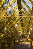 Abajo a la nueva edad amarilla Foto de archivo libre de regalías