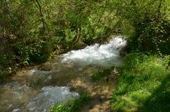 Abajo por el río Fotografía de archivo
