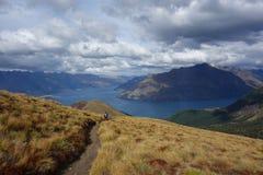 Abajo a Wakatipu Imagen de archivo libre de regalías