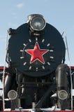 abakan kontrpara lokomotoryczna pomnikowa stara Zdjęcie Stock