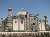 Abakh Khoja tomb in Kashgar Stock Photos