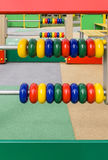 Abakus für Spielplatz Lizenzfreies Stockbild