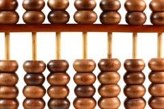 abakusa drewniany zamknięty Zdjęcia Stock