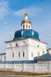 Abalak. Heiliger Znamensky-Tempel Stockfoto