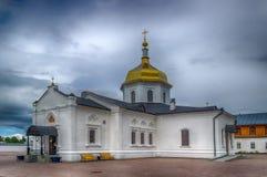 Abalak-Klosterehrenikone Mutter-Gott-Zeichen Tobolsk-Diözese Lizenzfreies Stockbild