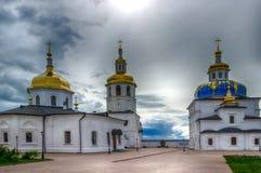 Abalak-Klosterehrenikone Mutter-Gott-Zeichen Tobolsk-Diözese Lizenzfreie Stockfotos