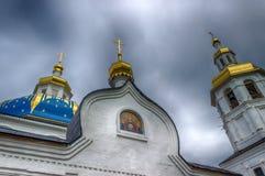 Abalak-Klosterehrenikone Mutter-Gott-Zeichen Tobolsk-Diözese Ru Stockbild